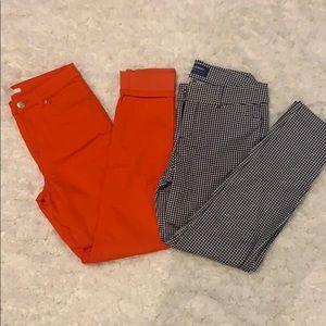 Pants bundle (Size 4)
